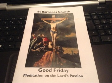 Good Friday at St. Barnabas Church, Mitcham